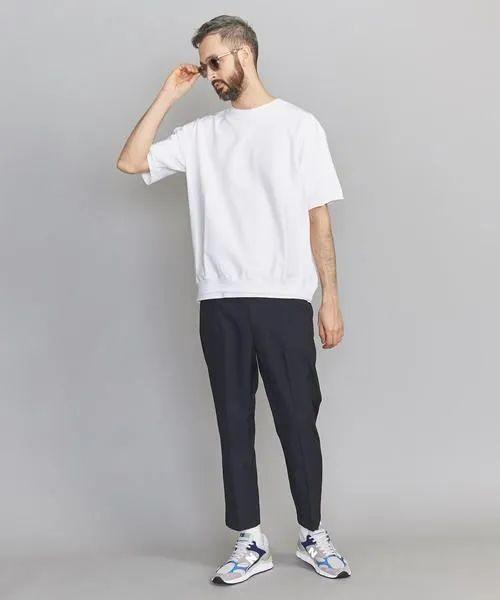 穿西裤一直搭配皮鞋?风格太单调了,换运动鞋试试,造型时髦出众